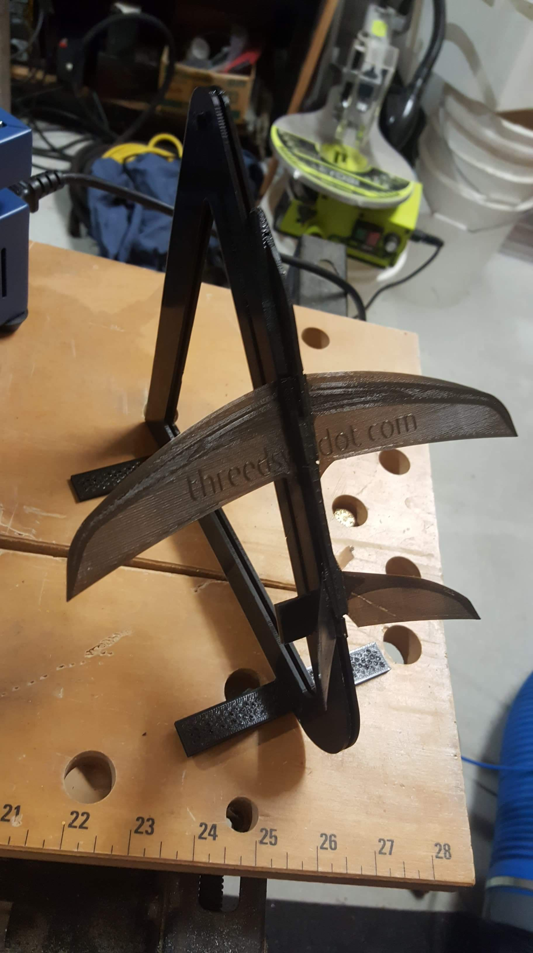Printed plane on stand.jpeg